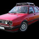 VW Golf GTI Mk2 by Vicki Spindler (VHS Photography)