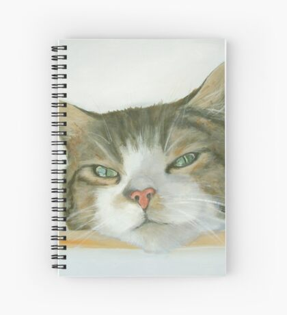 Look out spot Spiral Notebook