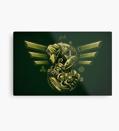 The Journey of Courage Metal Print