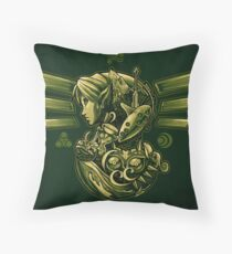 The Journey of Courage Throw Pillow