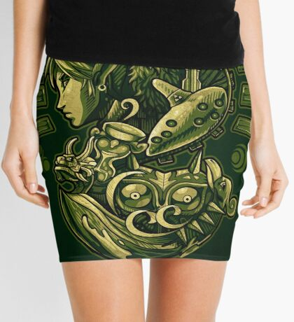 The Journey of Courage Mini Skirt