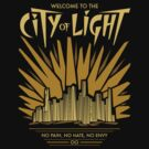 Welcome to the City of Light by DoodleDojo