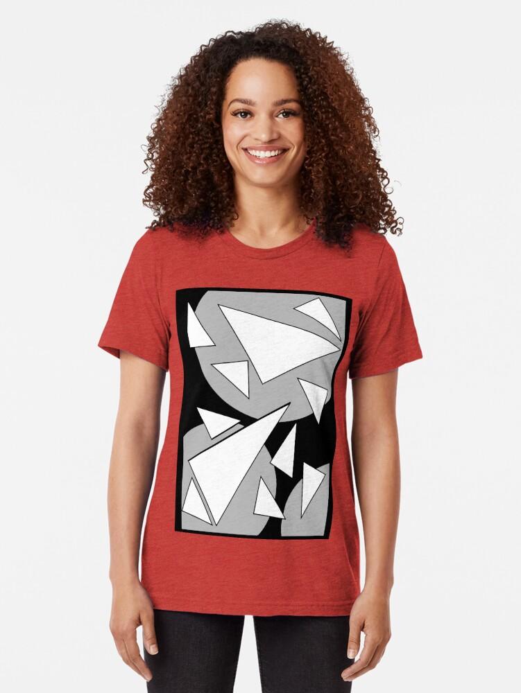 Alternative Ansicht von CA-Muster Vintage T-Shirt