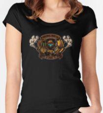 STEAM PUNK HUNTER  Women's Fitted Scoop T-Shirt