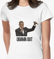 Obama Out Women's Fitted T-Shirt