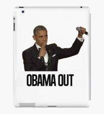 Obama Out iPad Case/Skin