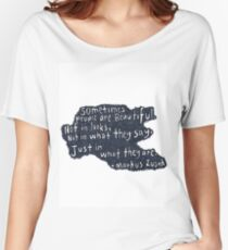 People are beautiful  Women's Relaxed Fit T-Shirt