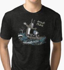 Donnie and Frank Tri-blend T-Shirt