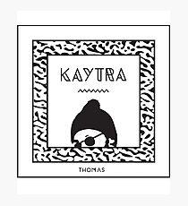 Kaytranada poster Photographic Print