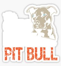 This Girl Loves Her Pit Bull Sticker