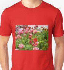 Tulip Garden Unisex T-Shirt