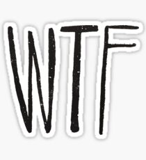 WTF Noir Sticker