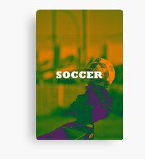 Soccer Canvas Print