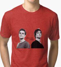 Camiseta de tejido mixto Los diarios de vampiros Salvatore Brothers