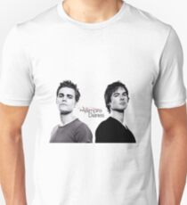The vampire diaries Salvatore Brothers  T-Shirt