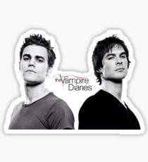 The vampire diaries Salvatore Brothers  Sticker