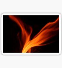 Flame Sticker