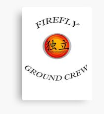 Firefly Ground Crew Canvas Print