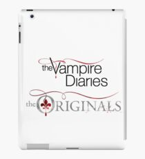 The vampire diaries and the originals  iPad Case/Skin