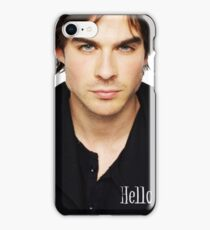 The vampire diaries Damon Salvatore  iPhone Case/Skin