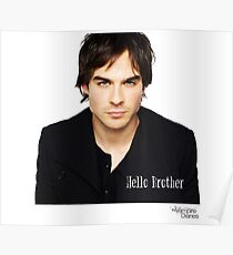 The vampire diaries Damon Salvatore  Poster