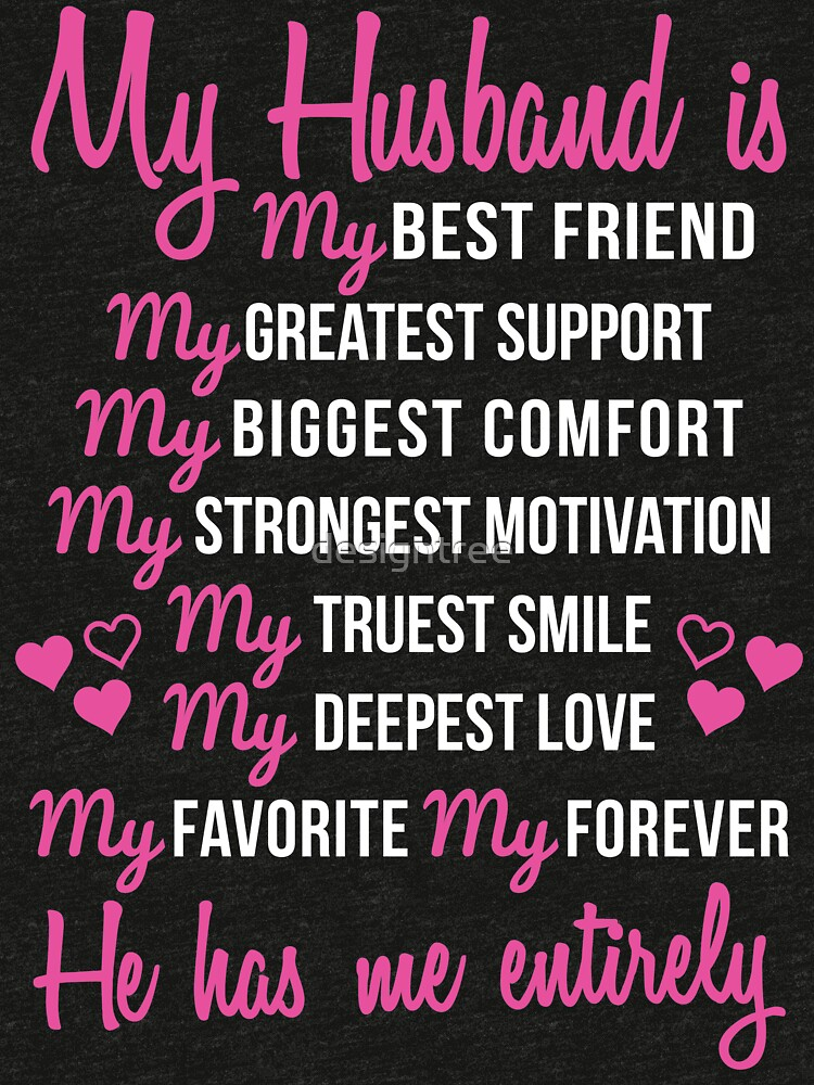 My Husband Is My Best Friend Wedding Anniversary Gift For Wife Tri