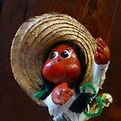 Straw Hat On The Marionette by WildestArt
