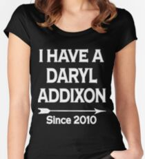I have a Daryl Addixon - Walking Dead Women's Fitted Scoop T-Shirt