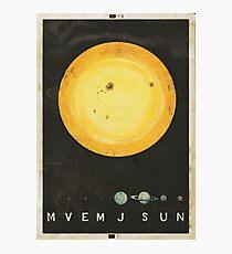Planetary Arrangement Photographic Print