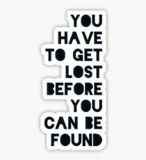 Lost and Found Sticker