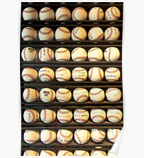 Baseball - You have got some balls there Poster