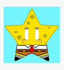 Spongestar Powerpants Photographic Print