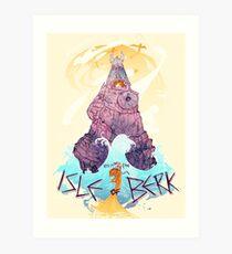 Isle of Berk Art Print