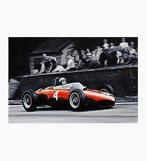 Phil Hill, Ferrari 156 'Shark Nose' Photographic Print