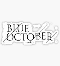 Blue October Broken Mirror Sticker