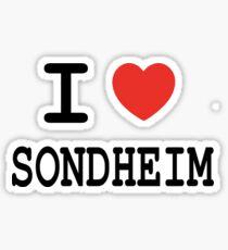 I <3 Sondheim Sticker