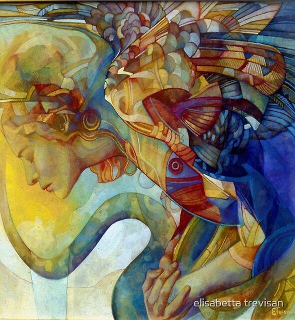 rainbow harpy by elisabetta trevisan