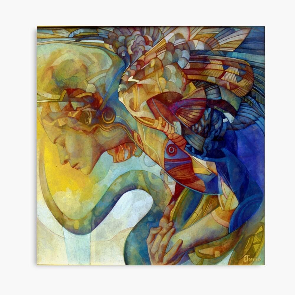 rainbow harpy Canvas Print