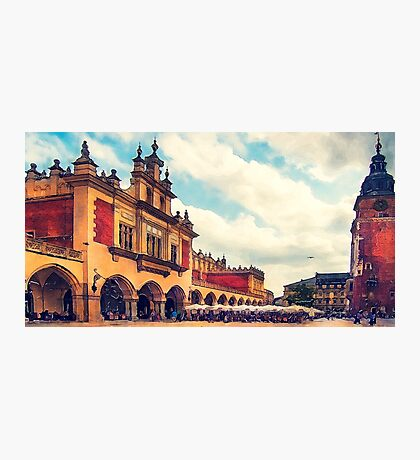 Cracow Main Square Old Town Photographic Print