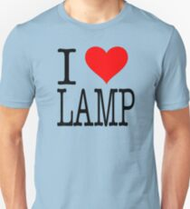 I Love Lamp   Anchorman Unisex T Shirt