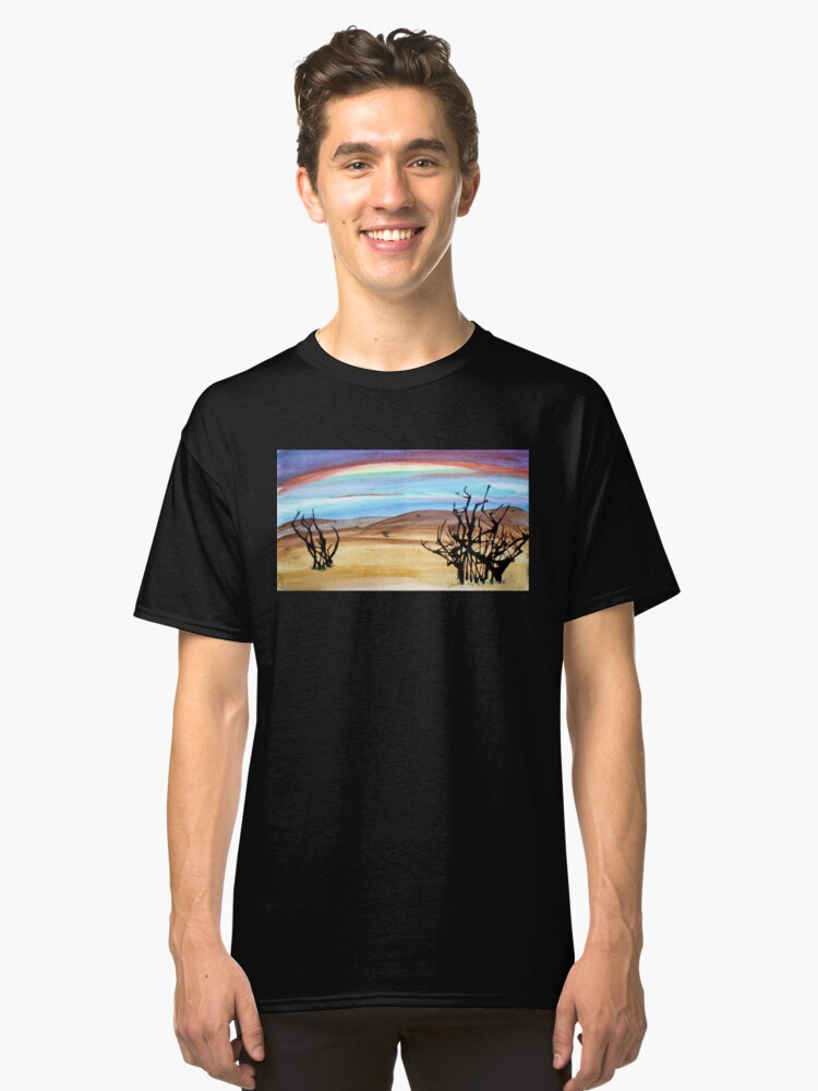 abstract desert  Classic T-Shirt Front