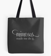 The Mimosa Collection by Graphic Snob® Tote Bag