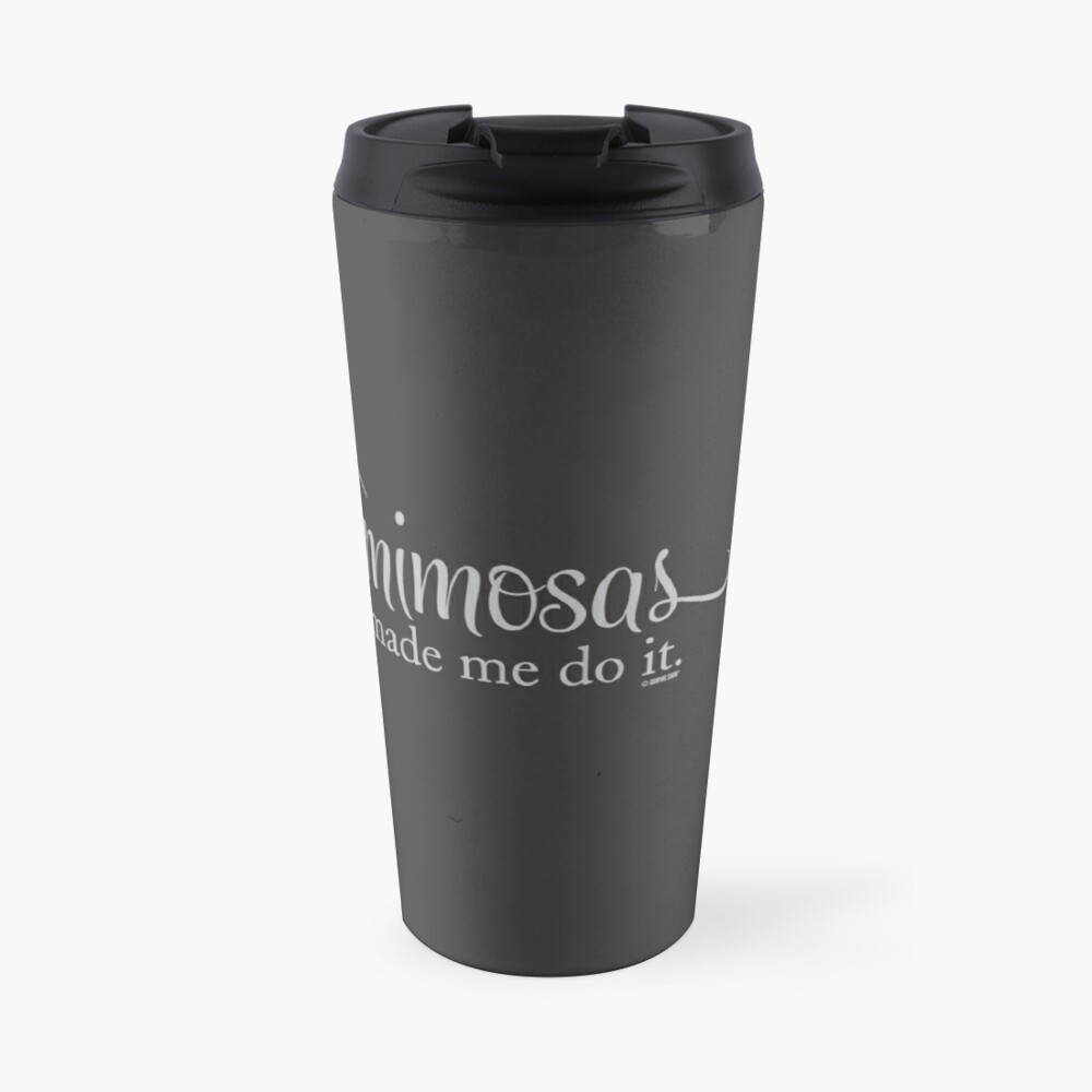 The Mimosa Collection by Graphic Snob® Travel Mug