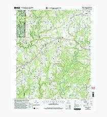 USGS TOPO Map Alabama AL Jones Chapel 304311 2000 24000 Photographic Print