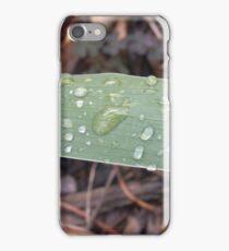 Mondays rain iPhone Case/Skin