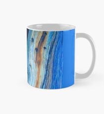 weathered blue juniper boards Mug