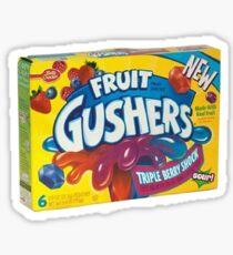 Fruit Gushers Sticker