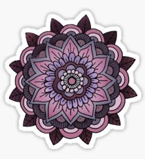 mandala: lavender  Sticker