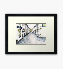 Ashton Lane, Glasgow Framed Print