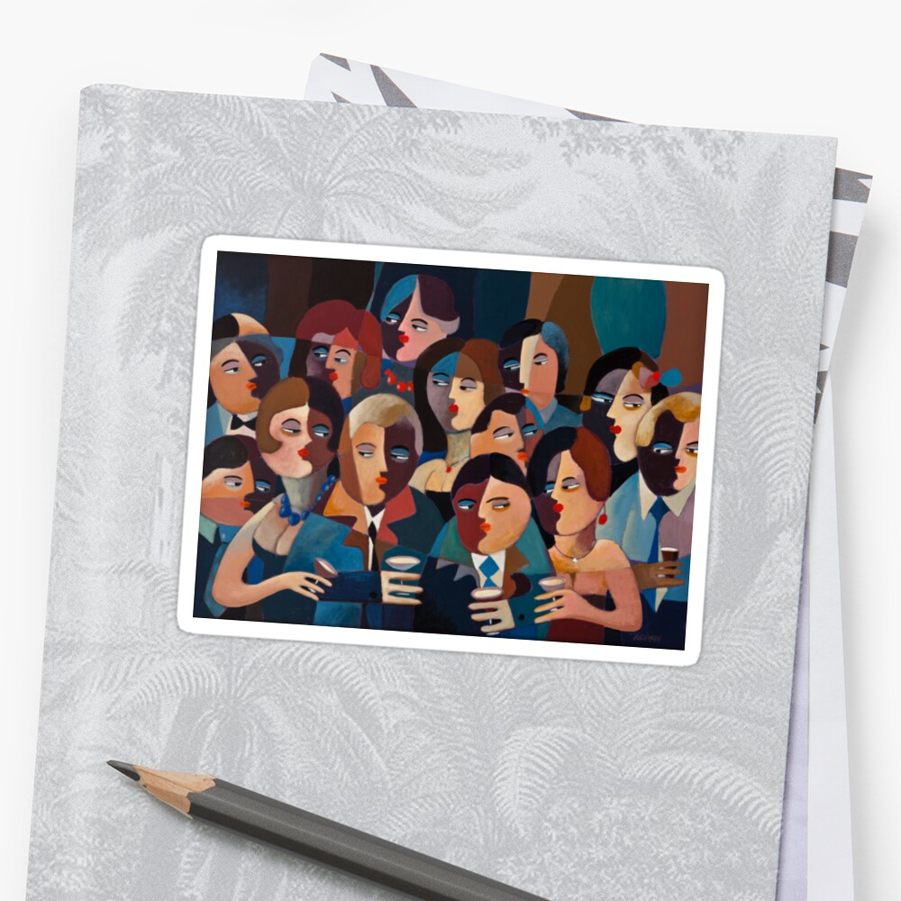 THE OFFICE PARTY Sticker